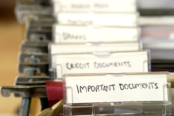11.No copies of important documents